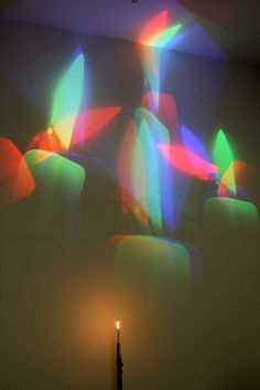 """Nam June Paik, """"One Candle [Candle Projection]"""", 1988  Canon 30D, EF 24-105mm L Series lens     ...(Experience the coolest #Art shows in     Manhattan with https://www.artexperiencenyc.com"""
