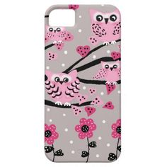 owls iPhone 5 cases