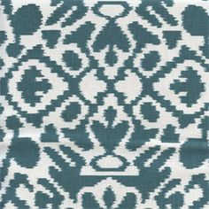 This is a beautiful blue southwestern ikat drapery fabric by Premier Prints. This fabric is perfect for any home decorating project.v114IFR