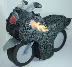 Motorcycle Party Piñata Pinata Fits 3 Pounds of Candy | eBay