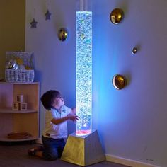 Bubble Tubes,sensory room bubble tubes,sensory bubble tubes,special needs bubble tubes,bubble tubes for sensory rooms Sensory Room Autism, Sensory Rooms, Large Floor Tiles, Tile Floor, Floor Mats, Floor Projector, Sensory Lights, Fish Lamp, Work Family