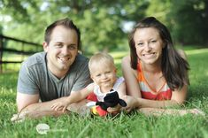 My sister with her little girl Amery's and her husband.