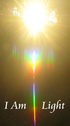 I am light. I am love. I am beauty. I am my magnificent self. I am worthy. We are with you little one. Namaste'