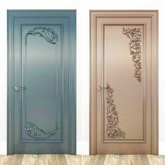 Front And Entry Doors For Your House – The Homeward View Hollow Core Interior Doors, Interior Doors For Sale, Interior Barn Doors, Craftsman Interior, Exterior Doors, Main Entrance Door Design, Front Door Design, Front Door Colors, Custom Wood Doors