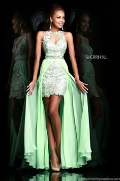 Absolutely LOVE this one. Prom/formal dress with removable skirt 2in1