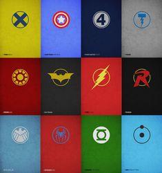 Superheroes Poster Design