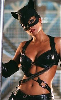 """Cat Woman Cosplay Halle Berry starred in a stand-alone film, """"Catwoman"""" - 2004 Catwoman Cosplay, Catwoman 2004, Catwoman Film, Black Catwoman, Estilo Halle Berry, Catwoman Halle Berry, Jennifer Garner, Jennifer Lopez, Fit Women"""