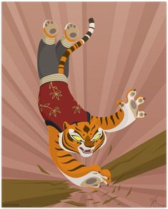 Kung Fu Panda Master Tigress by thazumi on DeviantArt