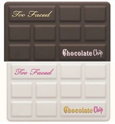 MAKEUP NEWS! Too Faced Chocolate Chip / White Chocolate Chip Palettes