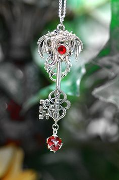 Red Dragon Key  198 by KeypersCove on Etsy