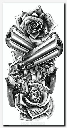 Ante braço atrás tattoo sketches CG art / Lock, Stock and Two Smoking Barrels Chicanas Tattoo, Leg Tattoos, Flower Tattoos, Body Art Tattoos, Tatoos, Tattoo Thigh, Band Tattoo, Fake Tattoos, Chicano Tattoos Sleeve