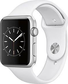 Apple Watch Series 1 42mm Smartwatch (Silver Aluminum Case, White Sport Band)  http://stylexotic.com/apple-watch-series-1-42mm-smartwatch-silver-aluminum-case-white-sport-band/