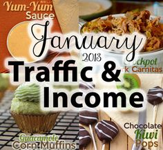Traffic & Income Report for January 2013