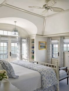 Beach Style Bedroom Design Ideas, Pictures, Remodel and Decor Coastal Bedrooms, Small Bedrooms, Coastal Living, Modern Coastal, Coastal Style, Coastal Cottage, Coastal Decor, Seaside Bedroom, Nautical Bedroom