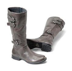Dark Gray Boots