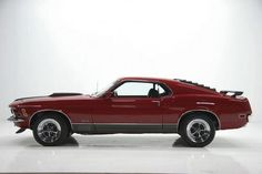 Don't much care for mustangs, but the fastbacks were pretty sweet. 1970 @Paul-Debbie Gordon  here's your maroon colored mustang! :)