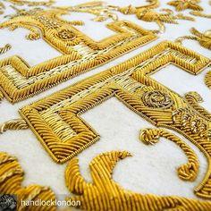 @handlocklondon #handandlock #embroidery #goldwork #handembroidery #London - #regrann  #urbancouture #embroidery #embellishement #sequins #вышивкаоткутюр #fashionkilla #highfashion #fashionpost #fashionforward #fashionforward #matreshkirf #exquisit #fashionlover #details #hautecouture #embroidery #sequins #beads #модно #вышивка #вышивкаручнойработы #ручнаяработа