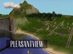 pleasantview: maxis makeovers - inferi sims