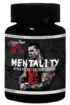 Mentality - Rich Piana 5% Nutrition - MuscleStoreUSA
