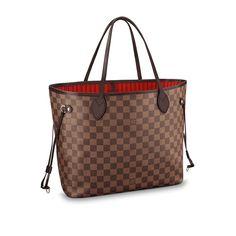 d764d48208ad Women - Neverfull MM Damier Ebene Canvas Women Handbags Business Bags