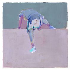 "Saatchi Art Artist Charlotte Evans; Painting, ""up and over (unframed)"" #art"