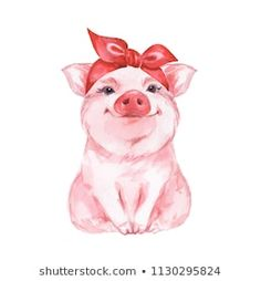 Cute Watercolor Illustration 1 Art Print by Gribanessa Art Print: Funny Pig. Cute Watercolor Illustration 1 by Gribanessa : The post Funny Pig. Cute Watercolor Illustration 1 Art Print by Gribanessa appeared first on Animal Bigram Ideen. Animals Watercolor, Watercolor Pencil Art, Watercolor Background, Art And Illustration, Watercolor Illustration, Cute Animal Illustration, Funny Pigs, Cute Pigs, Art Mignon