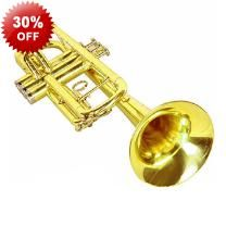 Quality Brass Trumpet With Case - Great for Beginners and Professionals!