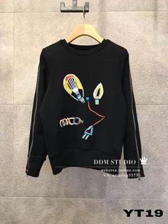 정품 2016 티 JS NEWYORK 맛 전구 소매 지퍼 스웨터를 구입 DDM 동국대 문 - Taobao의 글로벌 역