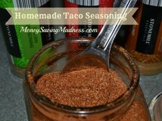 Recipe We Love: Homemade Taco Seasoning.