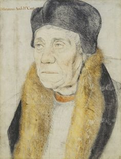 William Warham (c.1450-1532), Archbishop of Canterbury ~ Hans Holbein the Younger