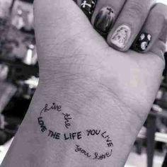 Sexy small tatoo