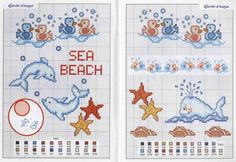 Fabinha Graphics For Embroidery: Babies Baby Embroidery, Embroidery Stitches, Embroidery Designs, Cross Stitch Sea, Cross Stitch Patterns, Delphine, Crochet Cross, Free Graphics, Baby Kind