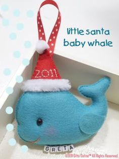 baby whale-links to site where mobiles are for sale - use pix for inspiration