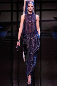 Armani Privé Spring 2014 Couture Collection Slideshow on Style.com