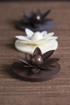 Available in dark, milk and white couverture chocolate. Presented beautifully in a white base, clear top and Sisko Chocolate ribbon. Chocolate Work, Chocolate Flowers, Chocolate Shop, Chocolate Molds, Chocolate Recipes, Chocolate Showpiece, Chocolate Garnishes, Chocolates, Bolo Floral