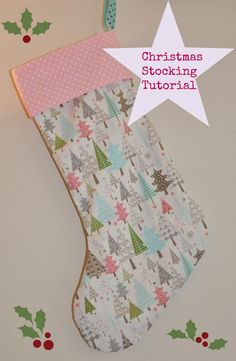 Its that time of year when people start to think about Christmas so I thought I would share a Christmas Stocking tutorial. This is a really ...
