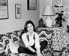 """"""" Carrie Fisher, Los Angeles, 1978  """""""