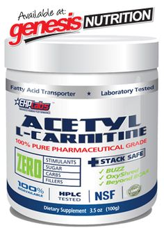 Acetyl L-Carnitine By EHP Labs - ALCAR! - New to Genesis - Specials PrimaForce Dendrobium Powder - New to Genesis - Specials - Shop Online @ www.genesis.com.au