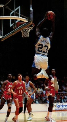 Michael Jordan, North Carolina