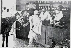 In the early 20th century, Paul Merab (His real name, Petre Merabishvili ) the personal physician of Emperor Menelik II of Ethiopia, and who owned the first pharmacy in Addis Ababa