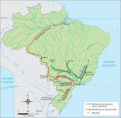 São Paulo - Conheça seu Estado (História e Geografia): 34 - As primeiras bandeiras no estado de São Paulo...