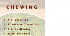 Chewing Vitamins, Healthy, Food, Hoods, Meals, Health