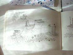 @Anna-Emilia Laitinen Anna Emilia Laitinen feature on @Design*Sponge  -- drawings and sketchbook sneak peek!