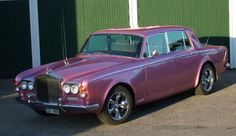 Rolls Royce Silver Shadow 1965  Retro Style Car Babygrow