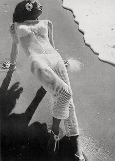 Fashion shot for Vogue by Helmut Newton
