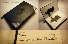 Harry Potter props - Tom Riddles diary
