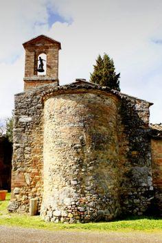 Abside e campanile della Chiesina di San Fabiano dell'anno 867 d.C.