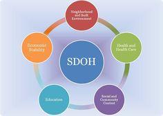 social determinants diagram