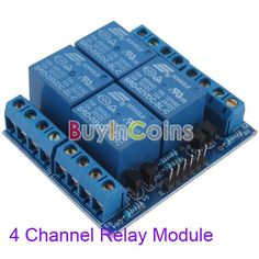 New Style 5V 4-Channel Relay Module Switch Board for Arduino PIC ARM AVR DSP PLC - 5.2$