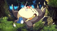 A Totoro to sleep on (and play with and love so much), super needful!
